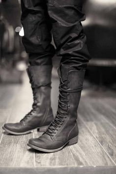 THESE are the man boots I have been looking for for quite some time! ~ Just saw these, awesome! - Davis