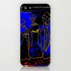 For me the Spirit of Christmas is all of us religion or not sharing our joy! So light your candles or hang your lights then give what U can even if its only letting others know how thankful U are......The Spirit Of Christmas Joy iPhone & iPod Case by Christa Bethune Smith, Cabsink09 - $35.00