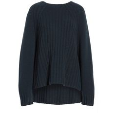 Women's Vince Ribbed Wool & Cashmere Sweater (39055 DZD) ❤ liked on Polyvore featuring tops, sweaters, ribbed cashmere sweater, pure cashmere sweaters, sweater pullover, vince sweaters and cashmere pullover