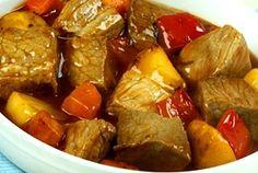 Beef Mechado Recipe http://www.pinoyrecipe.net/beef-mechado-recipe/