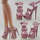 "High Heel 16"" Tonner Doll Antoinette Avantguard Sybarite Shoes Sandals (5-NS-5"