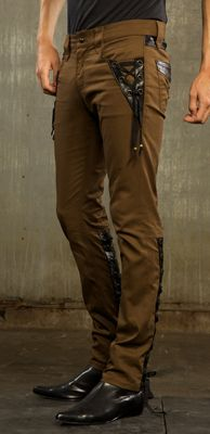 Mens - Bottoms - Step In Time - Gypsy Nights - Mens Gypsy Steampunk Pant - Style #m63-287