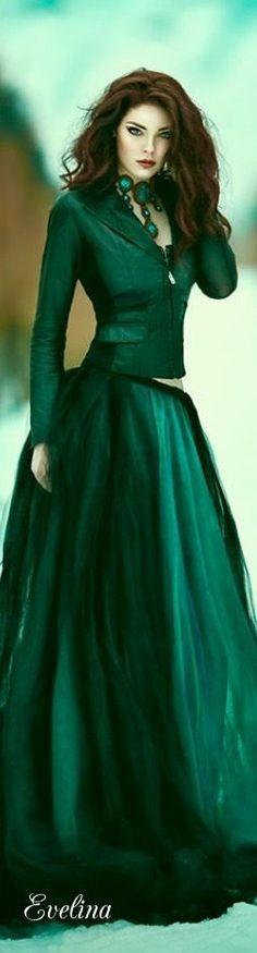 ~Elegant Christmas Green~