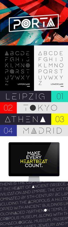 Porta - Desktop Font & WebFont - YouWorkForThem