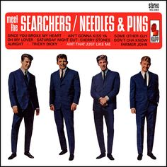 """""""Meet The Searchers"""" (1964, Kapp).  Their first US LP.  Contains """"Needles And Pins"""" and """"Ain't That Just Like Me."""""""