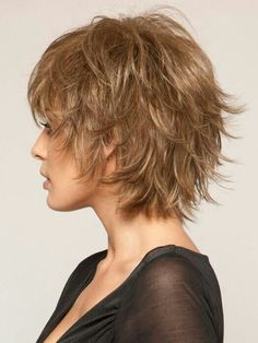Hair Beauty - womenhair,frisuren-short hair styles for women women short hair cut shorthair womenhair, frisuren hairstyle hairstyles kapsel Mi Shaggy Short Hair, Short Shaggy Haircuts, Short Shag Hairstyles, Short Hairstyles For Women, Messy Short Hair Cuts, Messy Pixie, Shaggy Bob, Long Pixie, Modern Hairstyles