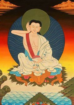 Tibet - Bouddhisme Bouddha Milarepa
