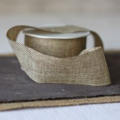 Hessian Burlap Ribbon - Sold By The Metre - The Wedding of My Dreams