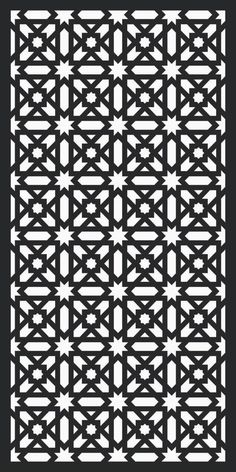 DXF of Laser Cut -CNC Vector DXF-CDR - AI Art file #UnbrandedGeneric Stencils, Stencil Templates, Islamic Art Pattern, Pattern Art, Motifs Islamiques, Arabesque, Jaali Design, Cnc Cutting Design, Laser Cut Panels