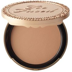 Too Faced Milk Chocolate Soleil Bronzer ($35) ❤ liked on Polyvore featuring beauty products, makeup, cheek makeup, cheek bronzer and too faced cosmetics
