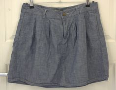 GAP cotton denim A-line skirt. Size US 10/UK 14. In very good condition. Price - 300 CZK.