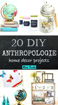 DIY Anthropologie Home Decor Projects