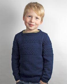 073 Sweater med sømandsbobler
