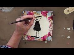 Wax on Wednesdays Encaustic Painting series Wax Magic ! - YouTube