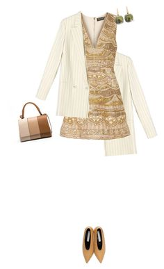 """Untitled #633"" by fanfan-zheng ❤ liked on Polyvore featuring Alice + Olivia, STELLA McCARTNEY and Pomellato"