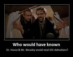Dr. House and Mr. Weasley