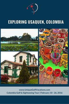 What comes to mind when you think of Bogota, Columbia? Yes, the lively, capital city is known for many things. So, it's challenging to name just one. However, it's a given that at least some of you will mention Usaquen. Usaquen is one stop that should be on your list. Once tied to historic nuptials, it is currently a curious district nestled within the city that we will visit on day 14 of our upcoming Colombia Golf Tour.#uniquegolfvacations