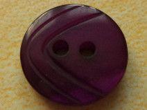 11 kleine Knöpfe violett 13mm (4015-2)Blusenknöpfe