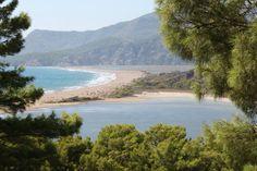 Caretta Caretta Beach,Dalyan,Fethiye,Muğla, Turkey