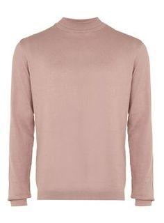 Pink Mini Roll Neck Sweater
