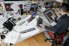 Yann Jarsalle - Designer. Relive the birth of New Renault #Clio behind the scene of Renault #Design. (c) J-C Mounoury - Droits réservés Renault