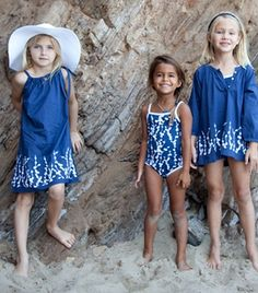Fab suits/coverups for kids at Stella Cove