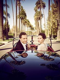 Tom Hiddleston and Felicity Jones,photographed by Jason Bell for Vanity Fair, March 2015.