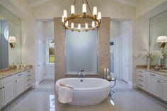 idée de salle de bain avec de la mosaïque
