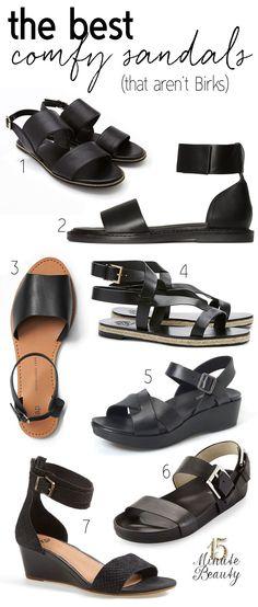 best comfy summer sandals