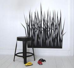 Grass by STICKERS DELUXE Stickers, Elegant, Color, Design, Home Decor, Black, Classy, Decoration Home, Room Decor