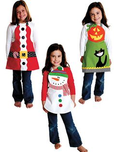 Holiday Friends Apron Sewing Pattern