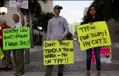 White House Reveals Desperate Lack of Support for TPP - https://www.laprogressive.com/stopping-tpp/