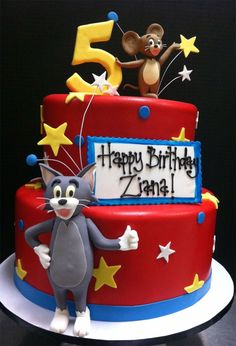21 Inspired Image of Tom And Jerry Birthday Cake Tom And Jerry Birthday Cake Pin Pompom Kids Parties Kinderfeestjes On Tom Jerry Birthday Tom And Jerry Kids, Tom And Jerry Cake, Tom Und Jerry, Harry Birthday, 4th Birthday, Birthday Cakes, Birthday Ideas, Birthday Parties, Jerry's Kids