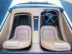 Car Interiors - 1978 Jaguar XJ concept - oh man
