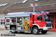Ein tolles Design hat die FF Titisee-Neustadt ihren neuen RW verpasst.
