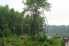 Abandoned Chippewa Lake Amusement Park, Chippewa Lake, Ohio.