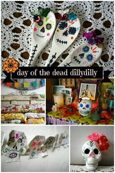 scrumdillydilly: day of the dead dillydilly: five diy projects of yore