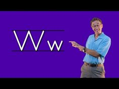 Learn The Letter W   Let's Learn About The Alphabet   Phonics Song for Kids   Jack Hartmann - YouTube