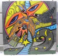 Tiere und Kunst von Herbivore11 - Traumwelten Nr. 35 - Dämonentraumtor