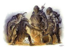 Orcs Debate, Color by TurnerMohan on DeviantArt