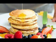 Breakfast Pancakes, Breakfast Recipes, Cottage Cheese Pancakes, Great Recipes, Healthy Recipes, Easy Cooking, 4 Ingredients, Cake Cookies, Kids Meals