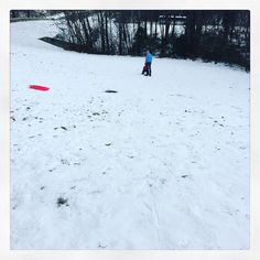 #snowpocalypse #day3 & the sledding hill is empty except for us. Southerners have no stamina. #gram