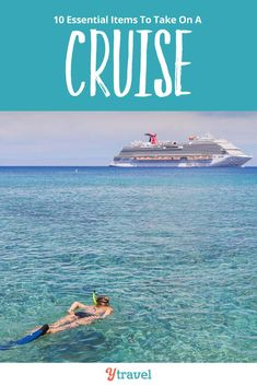 Cruise Vacation Packing List. Here are 10 essential items for your cruise packing list with kids or adults only travel.  Whether you are taking a Caribbean cruise or a cold weather itinerary, long or short, no matter the cruise line, you want these tips! For ideas of things to bring and packing hacks to keep you most comfortable on your cruise vacation no matter the adventure. Don't take your next cruise until you read this cruise packing list guide. #cruise #packinglists #cruisetravel #cruising