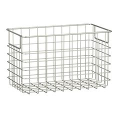 """Wire basket $15.95 13""""Wx7.5""""Dx8""""H Other sizes available!"""