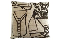 African   Mud Cloth Pillow on OneKingsLane.com