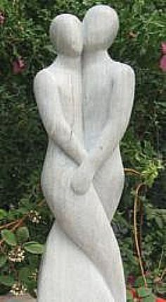 Tango Couple Garden Statue White Marble Beautify the yard with a garden statue Tango-Paar-Garten-Sta Stone Sculpture, Sculpture Clay, Abstract Sculpture, Garden Sculpture, Photo Sculpture, Resin Garden Statues, Statue Tattoo, Angel Statues, Greek Statues