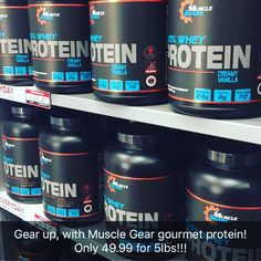 Muscle Gear Protein: Quality Product; Great Price; Great Flavors! #NuHealth #NuHealthSupps #protein NuHealthLifestyle.com
