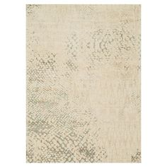 Crafted with wool and art silk, this chic abstract rug effortlessly anchors vibrant decor with its neutral palette.   Product: Rug