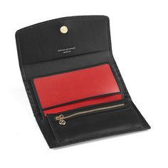 Brook Street Purse Wallet in Black Python from Aspinal of London