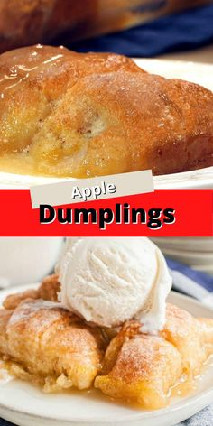 These easy Mountain Dew Apple Dumplings are out of this world delicious! No one will ever suspect that the secret ingredient is a can of soda.